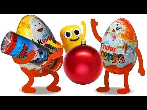 100 Surprise Eggs видео ::