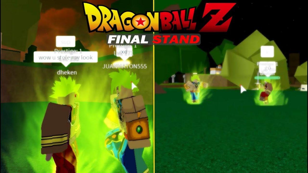 LEGENDARY SUPER SAIYAN FIGHT | Dragon Ball Z Final Stand | Prestige!!