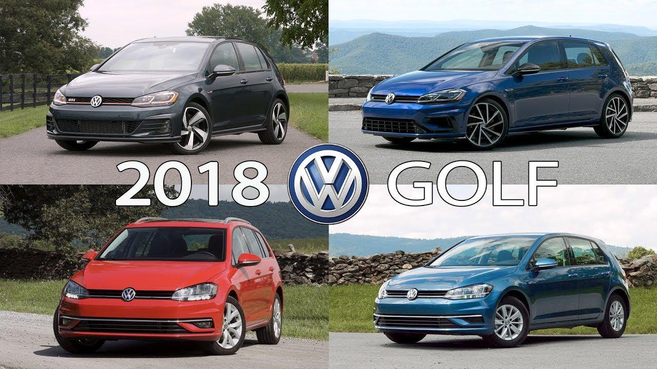 2018 volkswagen golf us spec range gti r golf golf. Black Bedroom Furniture Sets. Home Design Ideas