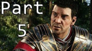 """Ryse Son Of Rome Walkthrough Part 5 """"The King"""" (Full HD) Xbox One Gameplay"""