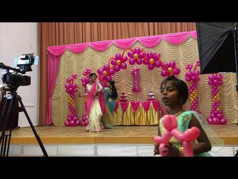Tamil Dance Performance - Surprise dance for Nihana