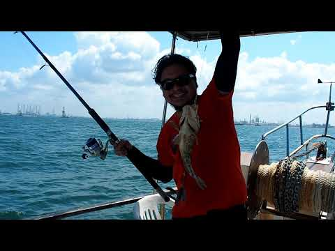 Fishing Trip At Tuas Area Singapore 13-Jul-2019