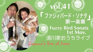 vol.41「ファジィバード・ソナタ」より 第一楽章「 Run,Bird 」  1st Mov.「Run,Bird」from 「Fuzzy Bird Sonata」