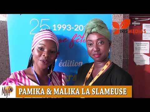 Masa 2018 : INTERVIEW AVEC MALIKA LA SLAMEUSE  ET PAMIKA DU BURKINA