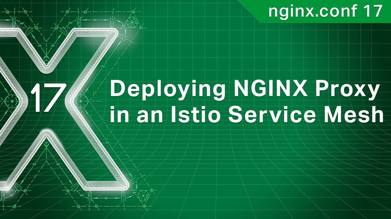 Deploying NGINX Proxy in an Istio Service Mesh