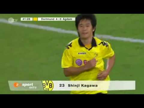 Borussia Dortmund - FK Qarabagh Agdam  Highlights 4-0 UEFA Europa League