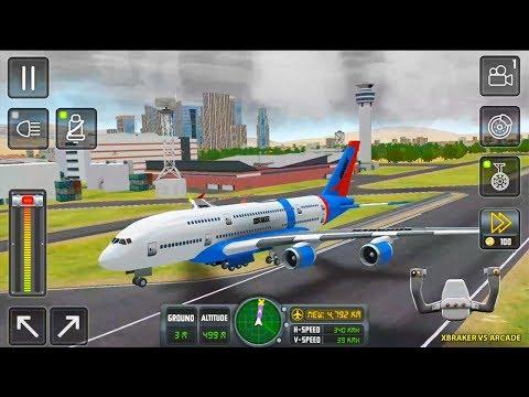 Flight Sim 2018 #36 - New Charter Airplane Unlocked - Best Android Gameplay