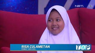 Download lagu Berawal dari Iseng Bikin Video, Risa Culametan Kini Viral (3/4)