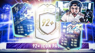 10 x 92+ ICON PACKS!! 96 TOTS PACKED! FIFA 21
