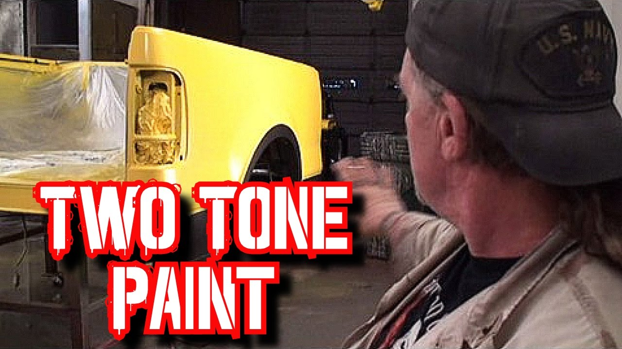 How To Paint Two Tone Colors On Your Car Or Truck Paint And Body