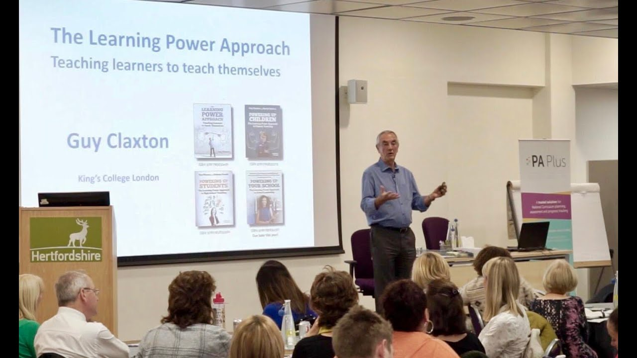 Guy Claxton: The Learning Power Approach and School Assessment for a New Era