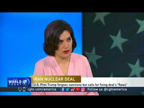 Negar Mortazavi on the Iranian reaction to new U.S. sanctions