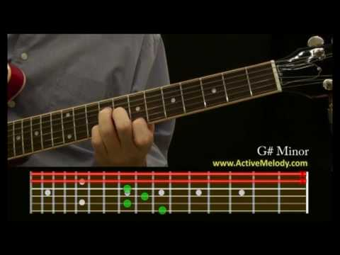 How To Play a G# (Sharp) Minor Chord on the Guitar - YouTube