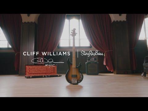 The Cliff Williams Icon Series StingRay Bass