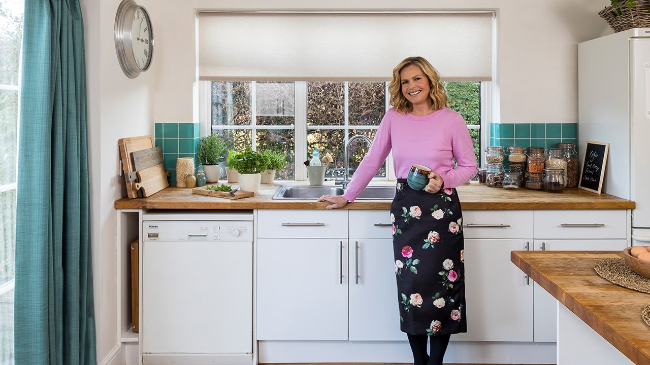 Liz Earle On Roller Blinds For The Kitchen