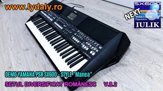 DEMO YAMAHA PSR SX600 Manea