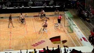 Hallenrad WM 2012 - HIGHLIGHT Radball DEU SWI Gruppe A