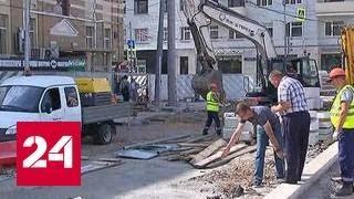 Собянин  работы на площади Белорусского вокзала завершатся до 1 сентября
