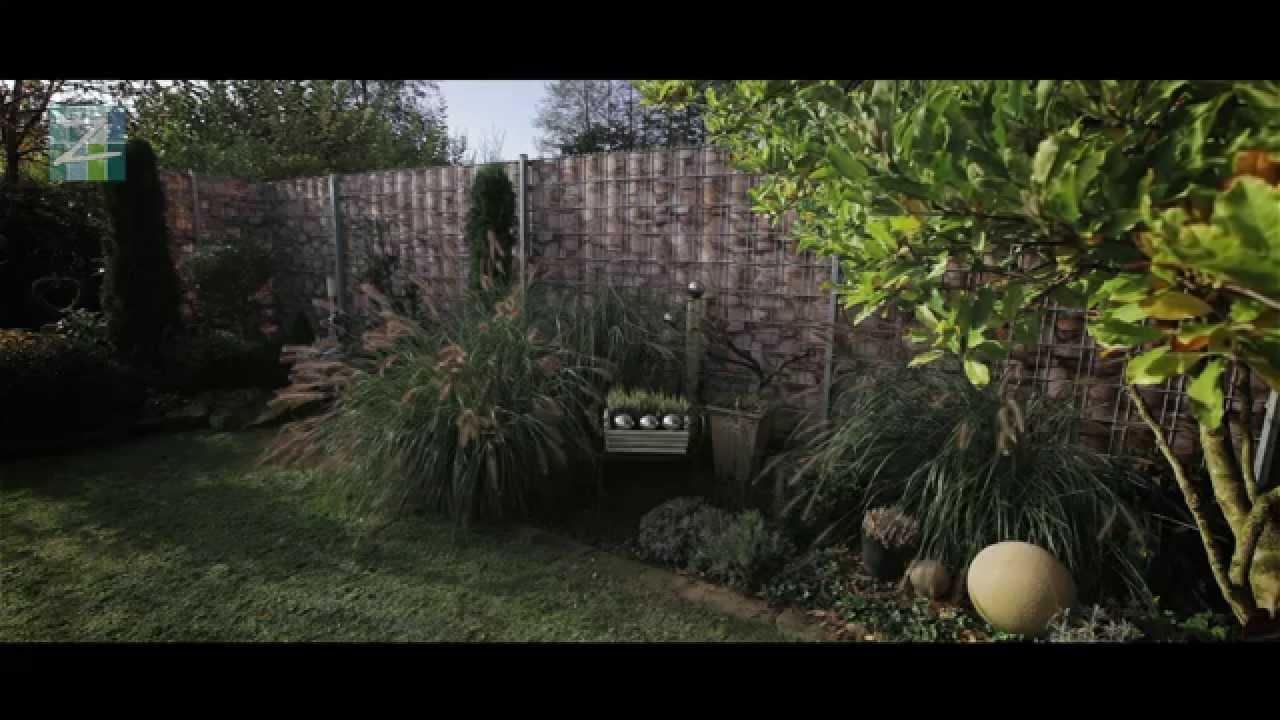 Zaundruck Der bedruckte Sichtschutz im Garten zum Einflechten