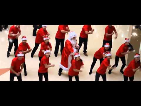 Видео: новогодний флешмоб от Казахинстрах Акмолинский филиал