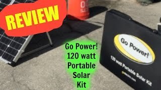 Review: Go Power! 120W Portable Solar Kit
