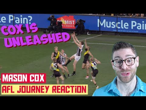 American REACTS to AFL | Mason Cox's AFL Story
