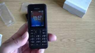 Телефон NOKIA 130 Dual SIM. Первое впечатление.(Новое видео-