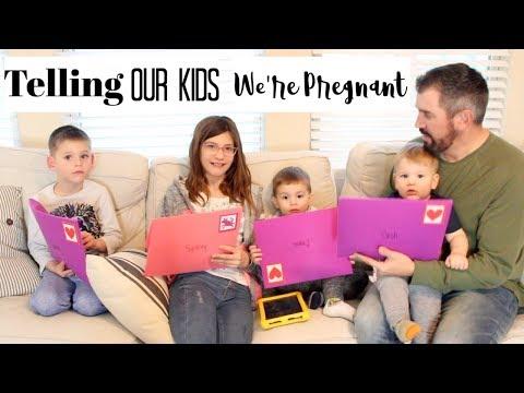 TELLING OUR KIDS WE'RE PREGNANT   BRITTANI BOREN LEACH