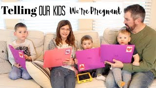 TELLING OUR KIDS WE'RE PREGNANT | BRITTANI BOREN LEACH