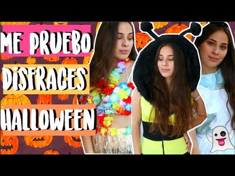Probándome Disfraces Económicos Para Halloween!