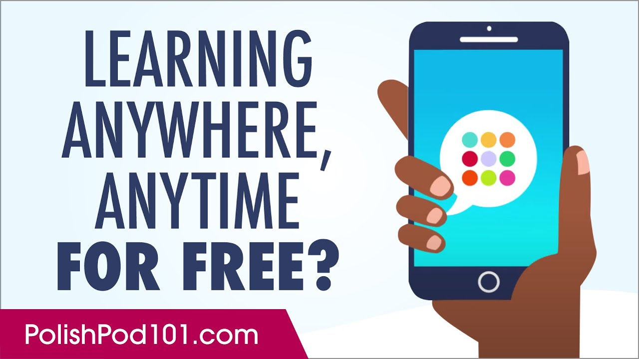 Want to Learn Polish Anywhere, Anytime on Your Mobile and For FREE