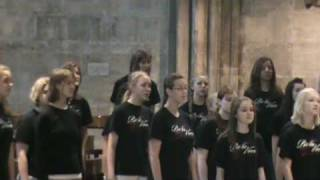 Bella Voce performs Psalm 23 at St Stephen's Cathedral, Vienna