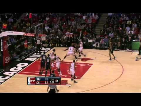(25/01/2012) - Indiana Pacers vs Chicago Bulls (Highlights)