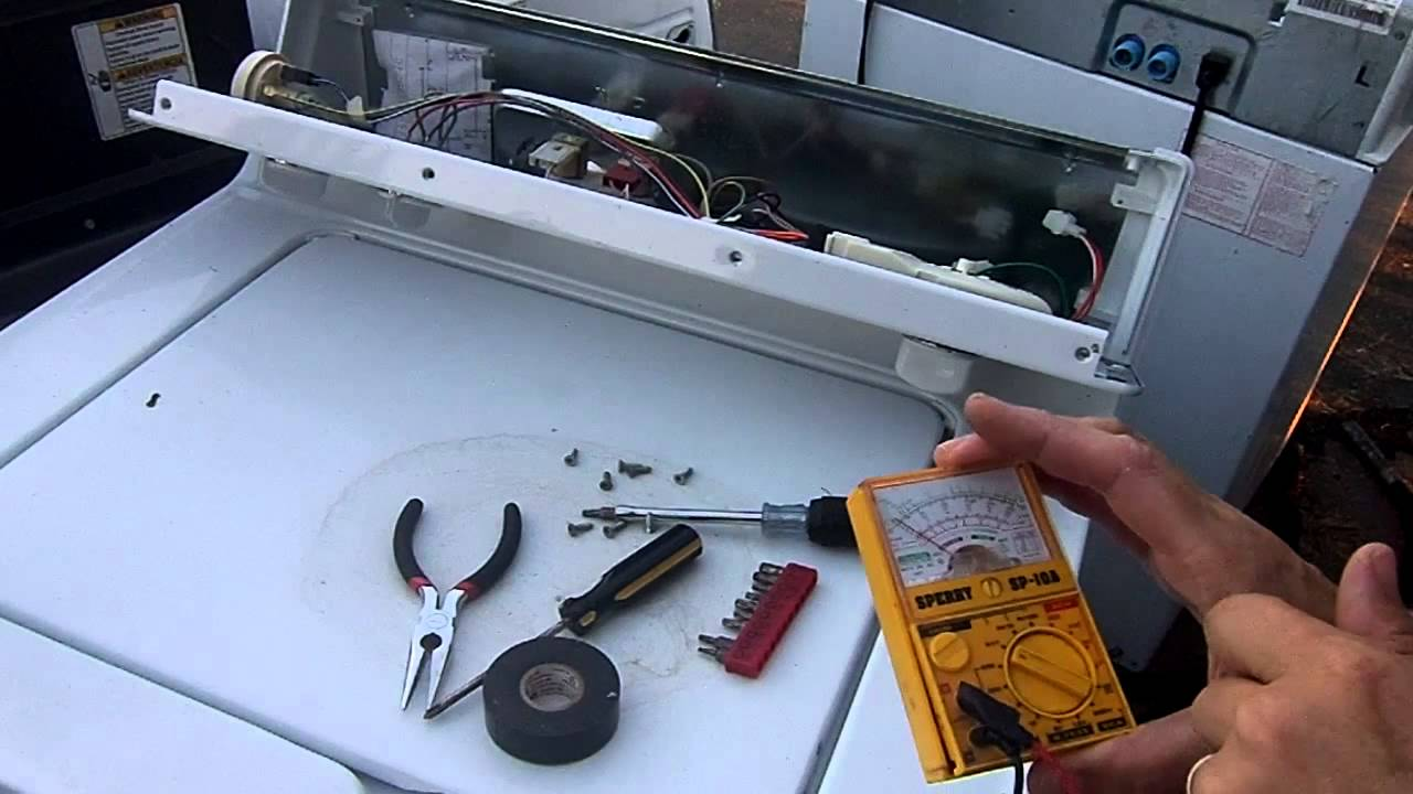how to test a ge washer lid switch newer model
