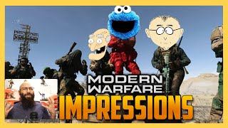 C is for Can You Stop? - Voice Impression Contest in Modern Warfare