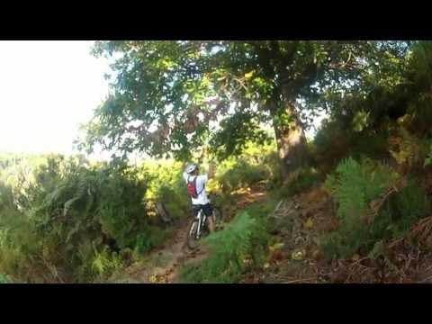 Corsica VTT Team : descente dans la Casinca