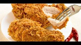بروستد الدجاج اسهل وافضل طريقة مع سر القرمشة مثل كنتاكي