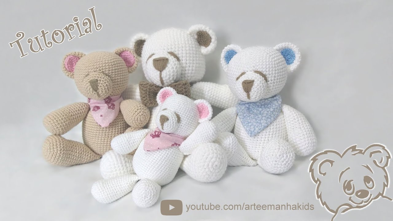Unicórnio Amigurumi de Crochê Receitas Português Parte 01 - YouTube | 720x1280