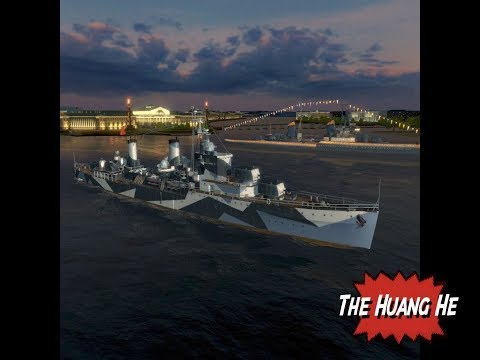 Huang He Pan Asia Tier 6 Premium Cruiser review for World of Warships Blitz