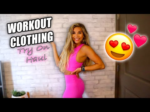 WORKOUT CLOTHING TRY ON HAUL