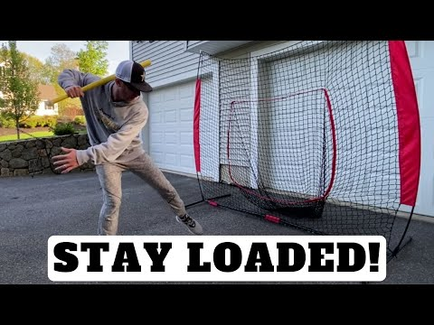 Stay Loaded As You Stride [Baseball Hitting Tips]