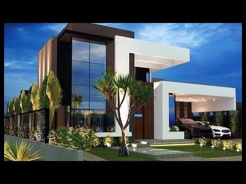 Simple And Beautiful Flat Roof House Designs Youtube