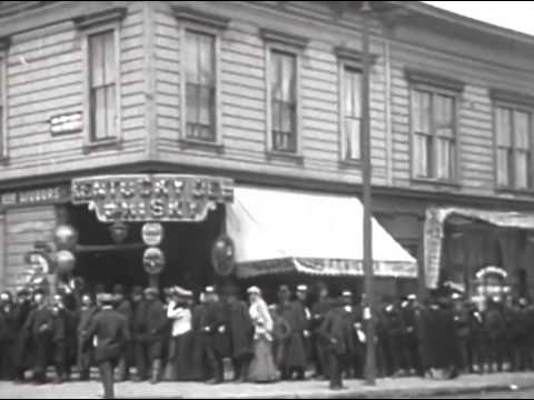 THE LOST ARCHIVES  San Francisco 1906 Earthquake 720p