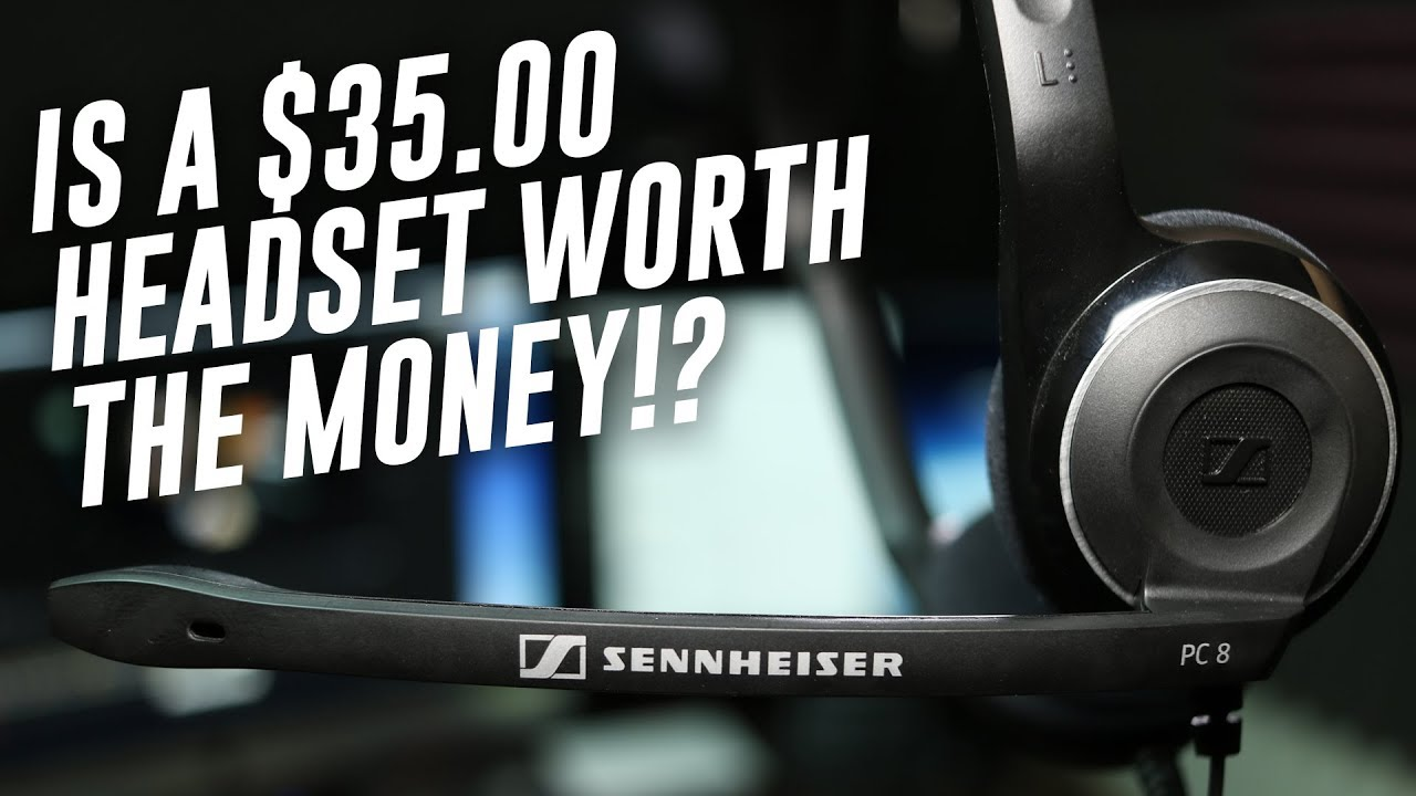 Sennheiser PC8 USB Headset Review / Test
