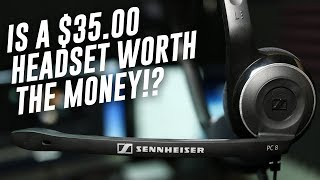 sennheiser PC 8 USB - Best budget headphone with mic for YouTube - Unboxing and Full Review (Hindi)