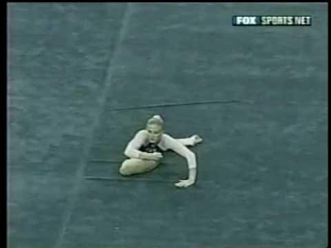 Kristin Parker - 2003 Pac 10 Championships Floor Exercise