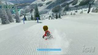 We Ski Nintendo Wii Gameplay - Hit the Gates
