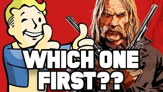 Fallout 76 vs. Red Dead Redemption 2: WHICH ONE SHOULD YOU BUY FIRST?