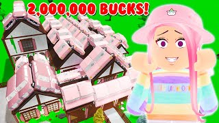 I Covered My WHOLE Roof With CARS! *2,000,000 DOLLARS* (Roblox Bloxburg)