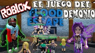 ROBLOX: FLOOD ESCAPE: THE MAP OF DEMONIO!!